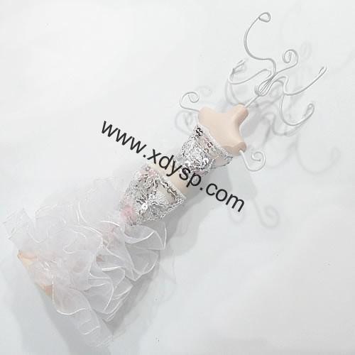 树脂模特饰品挂件,规格:6.5x18cm,模特首饰架(随机发货)