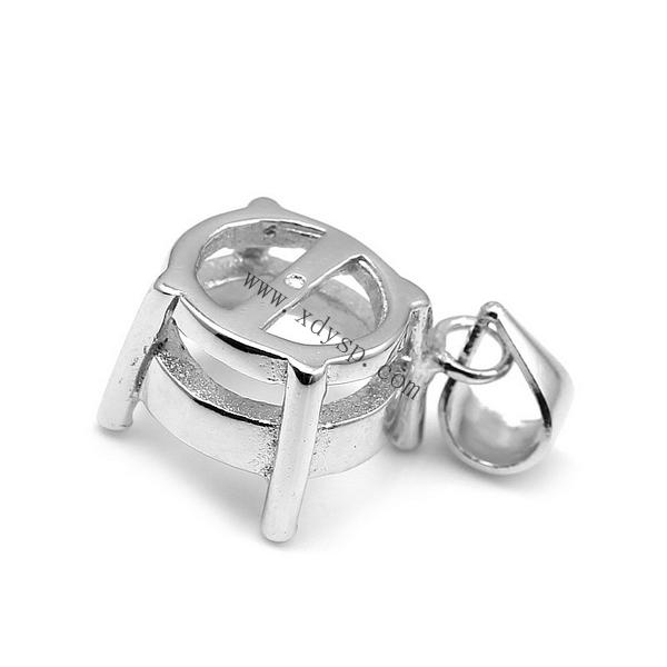 绳子编的珍珠戒指